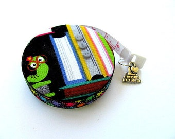 Tape Measure Books and Book Worm Retractable Measuring Tape