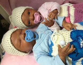 BI-RACIAL twins Everly &  Ella
