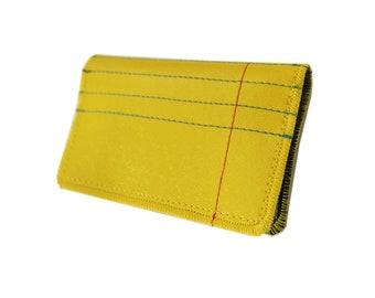 Rechtliche Papier) neue schlanke Brieftasche mit Reißverschlüssen