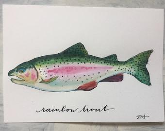 Custom Illustration (watercolour or acrylic)