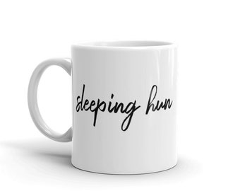the sleeper mug − made to order, with love.