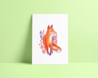 Fox - Fine Art Print ~ Lucile Farroni