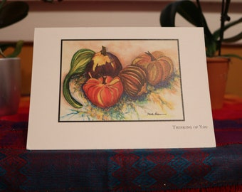 Pumpkin- Thinking of You Card