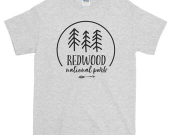 Redwood National Park T Shirt, Redwood Shirt, National Park Tee, National Park Shirt, National Park T Shirt, Redwood Forest tee