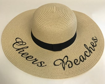 Cheers Beaches Floppy Beach Hat