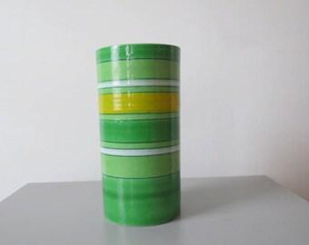1970's italian ceramic vase