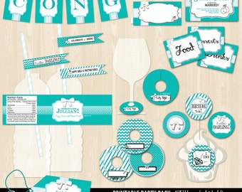 Tiffany's Wedding Printable Bundle Package