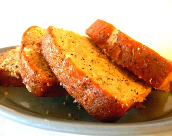 Julie's Lemon Poppyseed Bread - TWO (2) Loaves