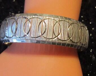 Vintage Sterling Silver 925 Bracelet - Vintage 925 Bracelet - Vintage Silver Bracelet - Vintage Sterling Bracelet  - THICK Sterling Silver