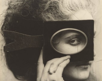 Vintage photo Countess Castiglione (Napolean's Mistress) antique photograph royalty aristocrat sepia photography 1800s-PRINT