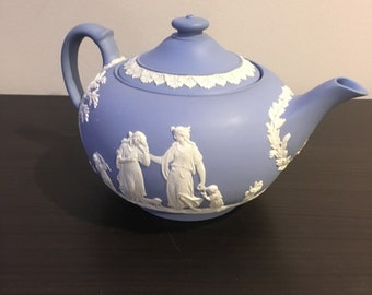 Wedgwood Jasperware Teapot 1951