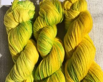 8 ply superwash merino yarn x3
