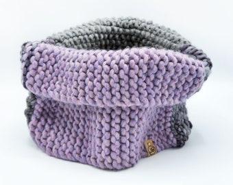 Cowl Neck Handmade with 100% Merino Wool