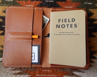 Leather Field Notes Book Cover