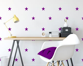 Star Wall Decals- Wall Decals, Star Wall Stickers, Nursery Wall Decal, Home Decor, Kids Room