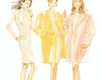 New Look Separates Pattern 6007 - Misses' Jacket and Dress - Sz 8 thru 18