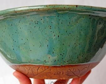 Bowl, Serving Bowl, Handmade Bowl, Pottery Bowl,  Serving Dish, Ceramic bowl, Stoneware Bowl, Dinnerware, large bowl, Salad bowl centerpiece