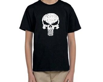 Punisher T Shirt Kids Boys children's T-shirt various sizes