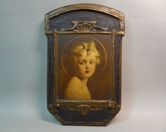 "Regal Art Company 'Light of the World"" Gesso Plaque"