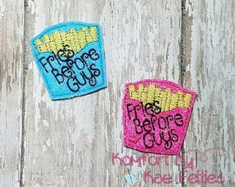 Fries Before Guys Felties- (set of 4) UN-CUT