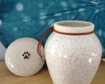 Large Pet Cremation Urn for Large Dog up to 70 lbs