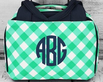 Monogrammed Insulated Lunch Bag