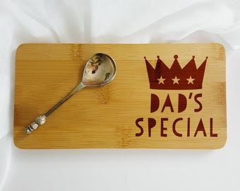 Personalised Dad's Special Coaster-Gift for Chef-Birthday Gift for Dad-Dad's Special-Father's Day Gift-Gift for Coffee-Father's Day-Dad Gift