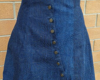 Underbust Jeans/Corset with skirt (Underbust with skirt)