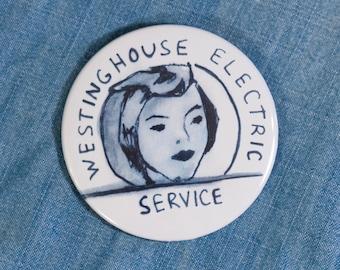 Rosie the Riveter Pin, Rosie Button