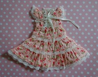 Pink Cherry Blossom Lace Dress * Blythe * Pullip *
