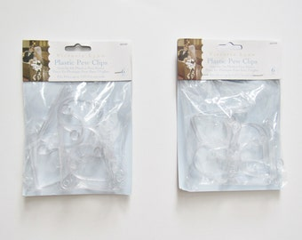 Plastic Pew Clips - Clear - Pew Clips - Victoria Lynn - Wedding Decoration - Wedding Reception