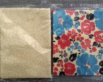 Quilting Cotton Fabric. Cotton Fabric 2 X Fat Quarter