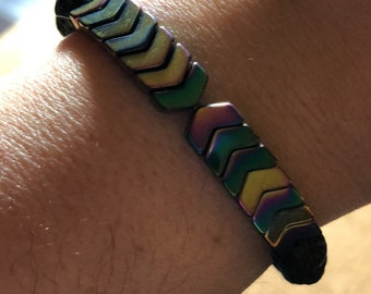 Anxiety and Centering wire bracelet