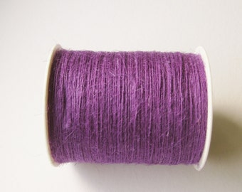 50 Yards of 1mm Violet Jute Twine