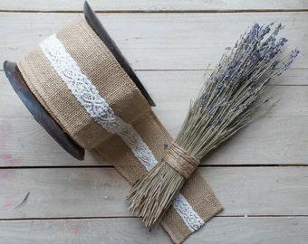 Burlap Lace Ribbon-Wedding Season Special Sale