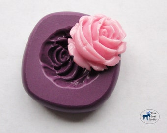 Rose 2 Mold/Mould -  Silicone Mold - Flower - Polymer Clay Resin Fondant