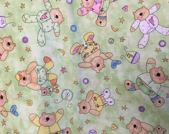 Sale - Baby Bears by South Seas Imports- 2 yards
