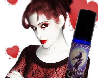 RED SEXY Perfume Oil - Pomegranate, Marshamallow, Berries, Citrus, Clove - Gothic Perfume - Valentine's Perfume