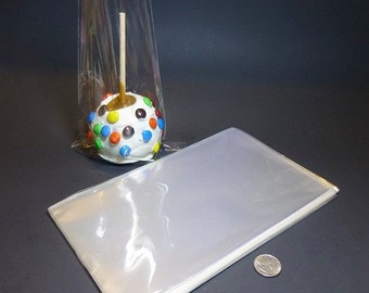 "Clear Polypropylene 'Cellophane' Favor Treat Bags 6 x 10"""