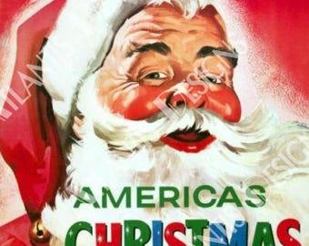 Woolworth Americas Christmas Store 2 x 3 Fridge Magnet