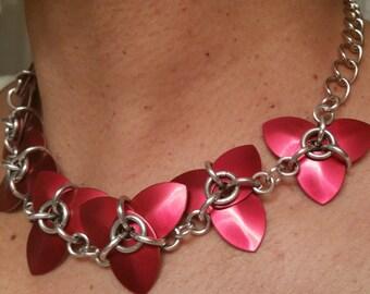 Fleur Rouge Necklace