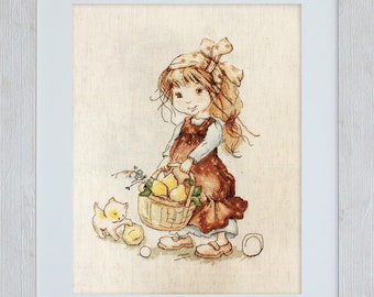 Gathering Pears SB1076 - Cross Stitch Kit by Luca-s
