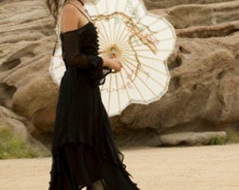 Evening in Paris--Silk dress----By Stella Dottir