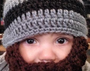 Baby beard hat (customizable)
