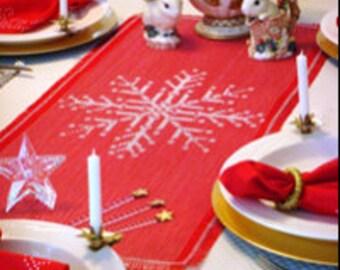 Winter Crystal Swedish Weave Pattern