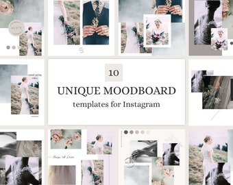 Mood Board Templates for Instagram