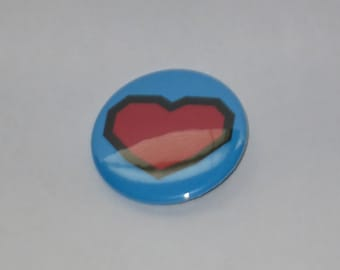 "Heart - 1.5"" Inch Pinback Button"