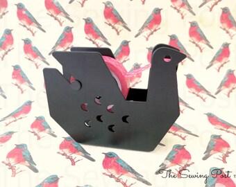 Distributeur de ruban adhésif: Oiseau noir