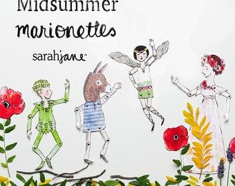 Midsummer Paper Puppets
