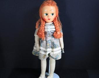 Vintage Polish Doll - Celluloid Mask Face Doll - Vintage Doll Polish